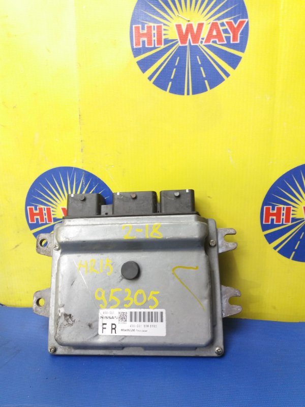 Блок управления двс,компьютер Nissan Tiida C11 HR15DE 2008