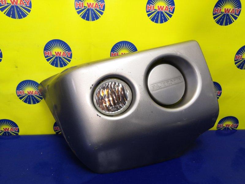 Клык бампера Mmc Pajero Mini H53A передний правый