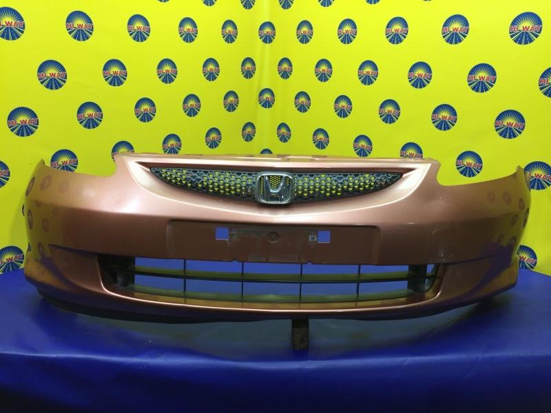 Бампер Honda Fit GD1 L13A 2004 передний