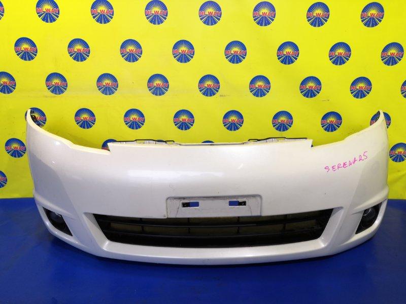 Бампер Nissan Serena C25 2007 передний