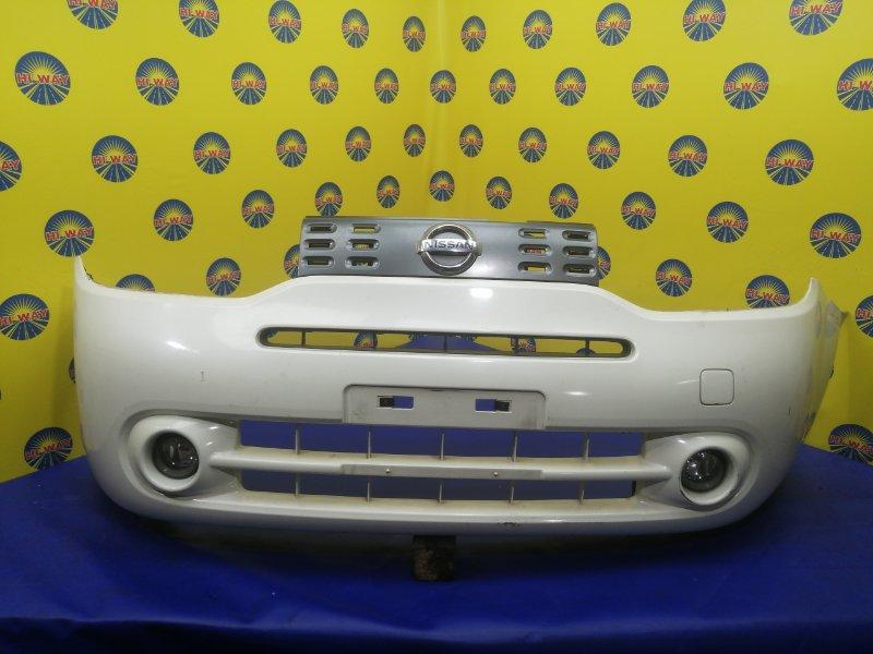 Бампер Nissan Cube Z12 2008 передний