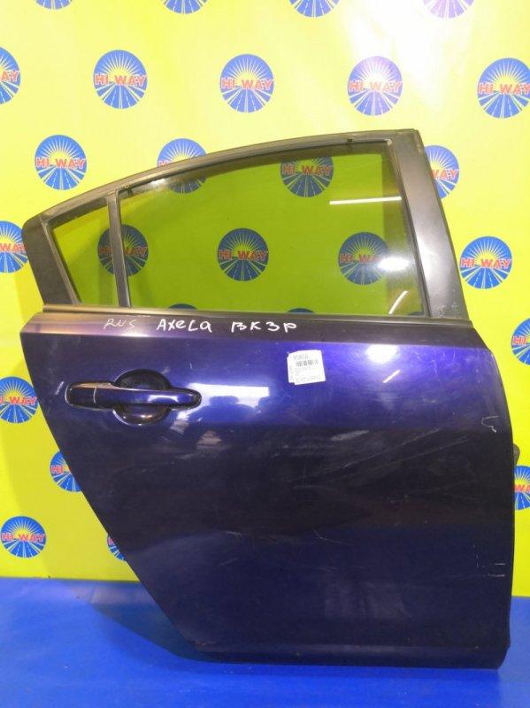 Дверь боковая Mazda Axela BKEP 2003 задняя правая