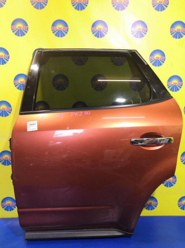 Дверь боковая Nissan Murano PNZ50 VQ35DE 2004 задняя левая