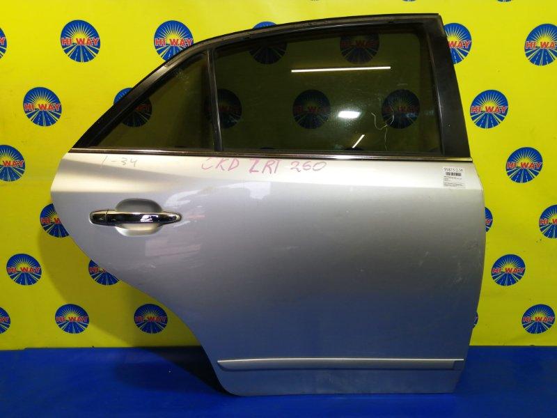 Дверь боковая Toyota Premio ZRT260 2ZR-FE 2007 задняя правая