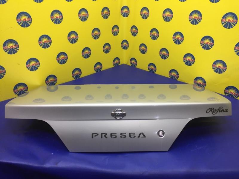 Крышка багажника Nissan Presea R11 GA15DE 1997 задняя