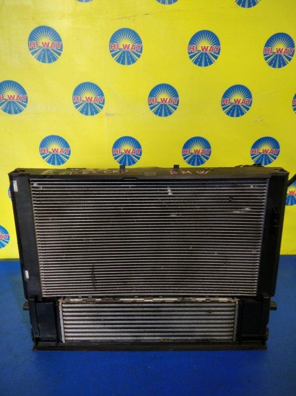 Радиатор двс Bmw 116I F20 N13B16A 2011