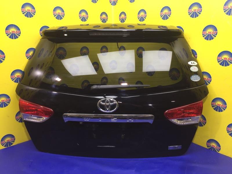 Дверь задняя Toyota Wish ZGE20G 2012 задняя