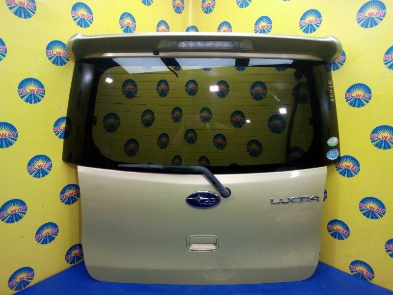 Дверь задняя Subaru Lucra L455F 2010 задняя