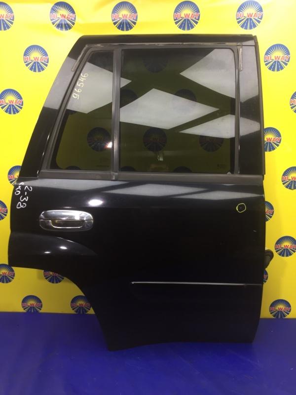 Дверь боковая Chevrolet Trailblazer GMT360 LL8 2001 задняя правая
