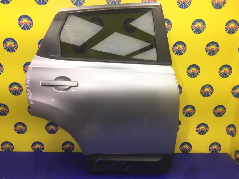 Дверь боковая Nissan Dualis J10 2007 задняя правая