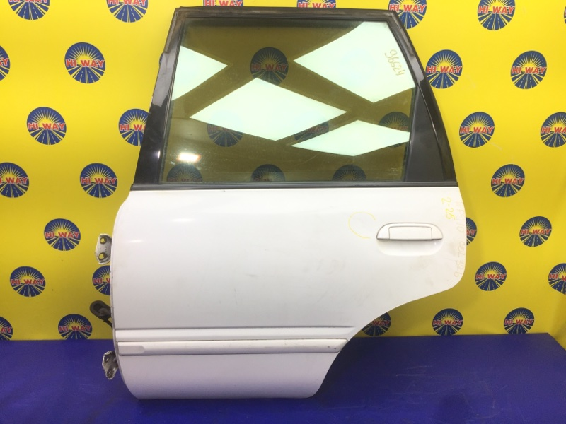 Дверь боковая Nissan Wingroad WFY10 GA15DE 1990 задняя левая