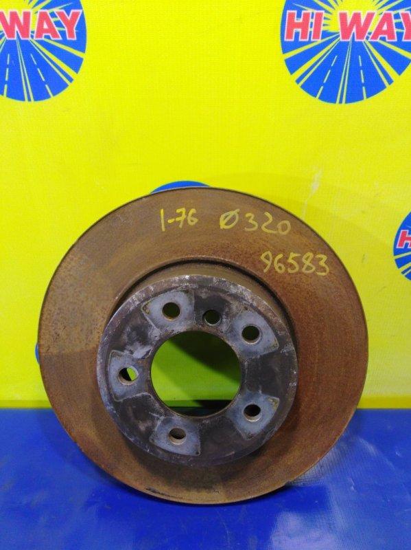 Диск тормозной Bmw 525I E60 передний