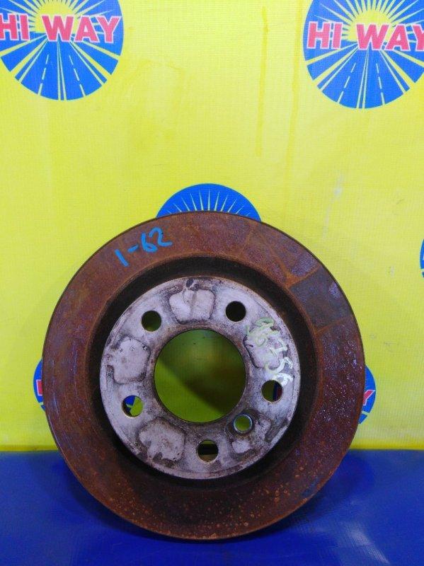 Диск тормозной Bmw 116I F20 N13B16A 2012 задний