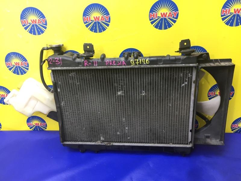 Радиатор двс Nissan Presea R11 GA15DE 1995