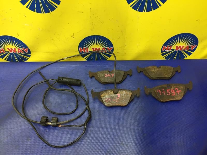 Колодки тормозные Bmw Z3 E36 M44B19 1996 задние