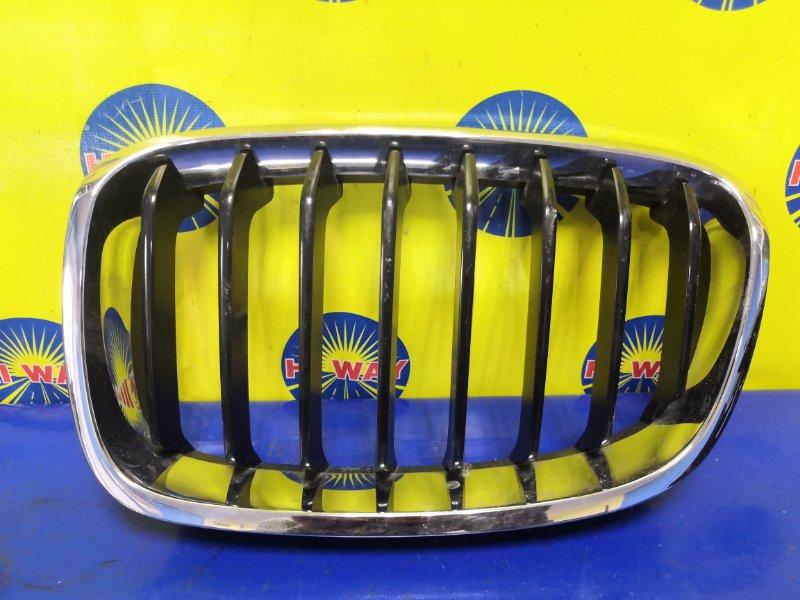 Решетка радиатора Bmw 116I F20 N13B16A 2012 передняя левая