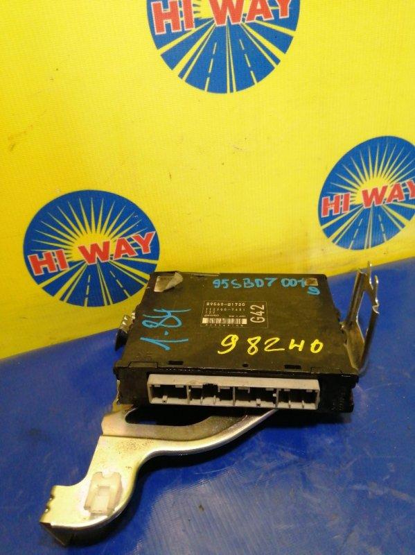 Блок управления двс Toyota Passo KGC10 1KR-FE 2009