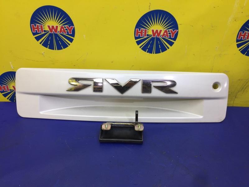 Накладка багажника Mmc Rvr N61W 1997 задняя