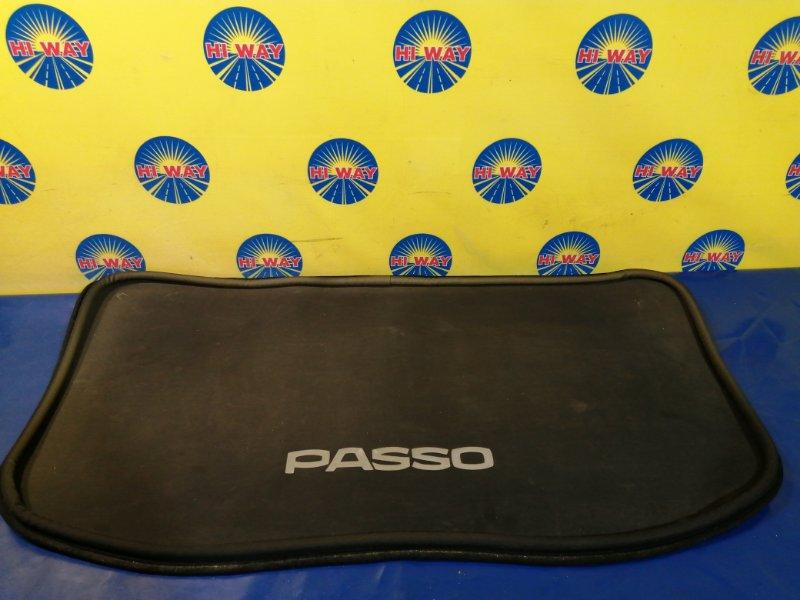 Коврики в салон Toyota Passo KGC10 1KR-FE задние