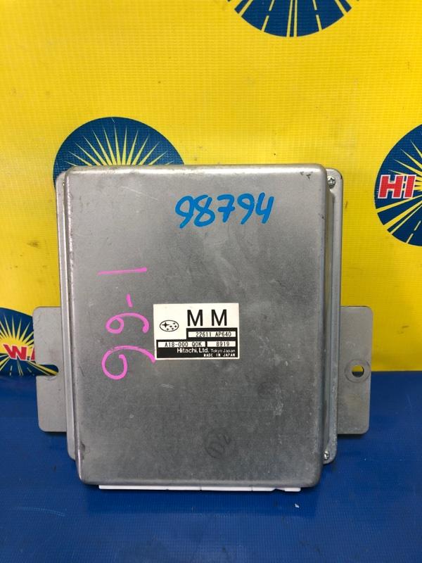 Блок управления (компьютер) Subaru Impreza GH2 EL15 2008