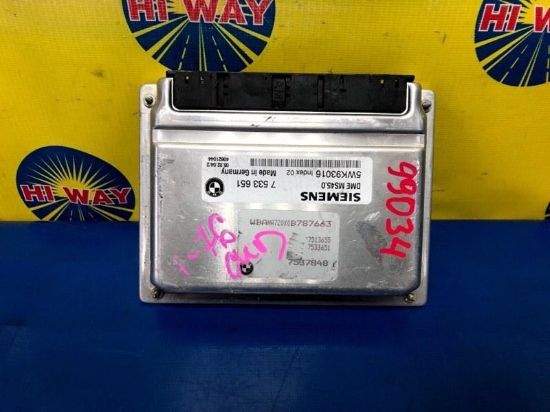 Блок управления двс Bmw 530I E60 M47D20