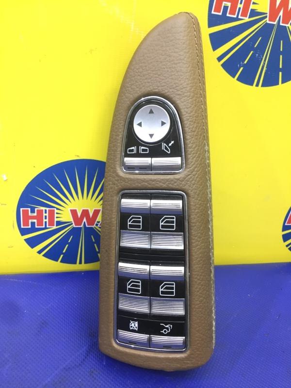Блок управления стеклоподъемниками Mercedes-Benz S350 W221 M272 E35 2005 передний левый