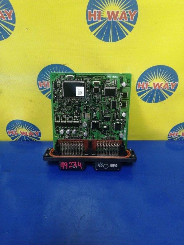 Блок управления (компьютер) Mazda Demio DY3R ZJ-VE