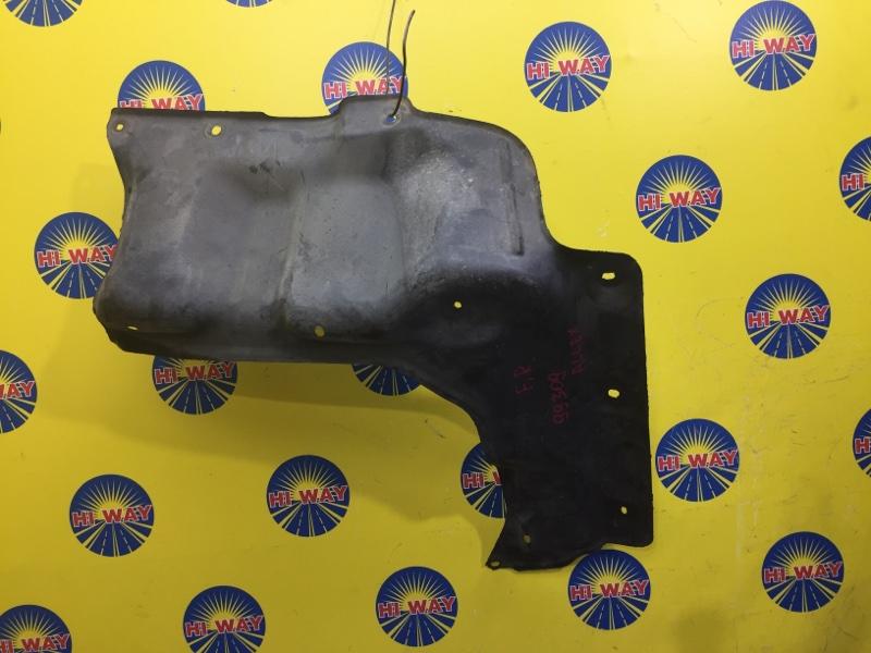 Защита двс Toyota Allex NZE121 передняя правая нижняя