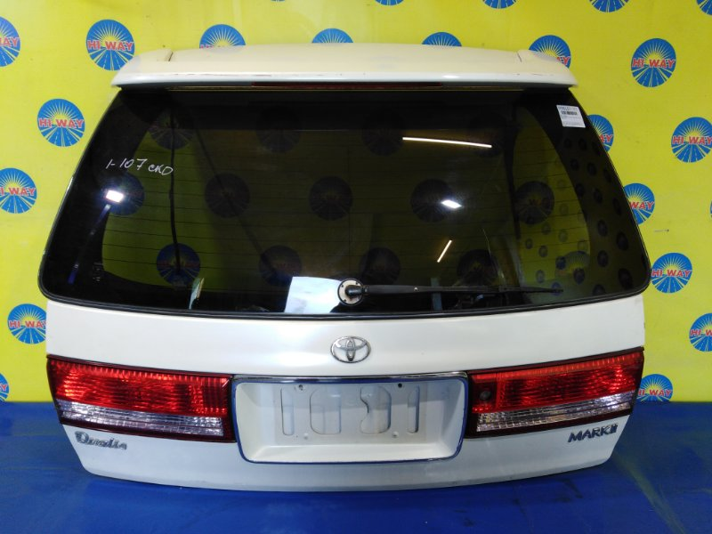 Дверь задняя Toyota Mark Ii Qualis SXV20W 5S-FE 1999