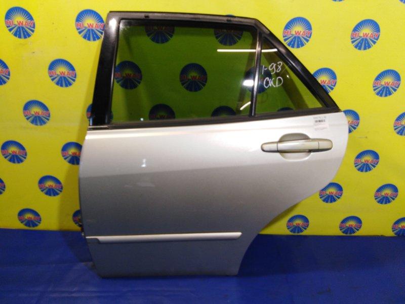 Дверь боковая Toyota Altezza JCE10 2JZ-GE 2001 задняя левая
