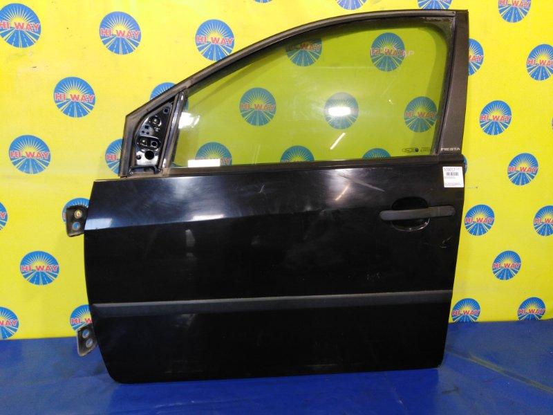 Дверь боковая Ford Fiesta CBK FYJA 11.2001 передняя левая