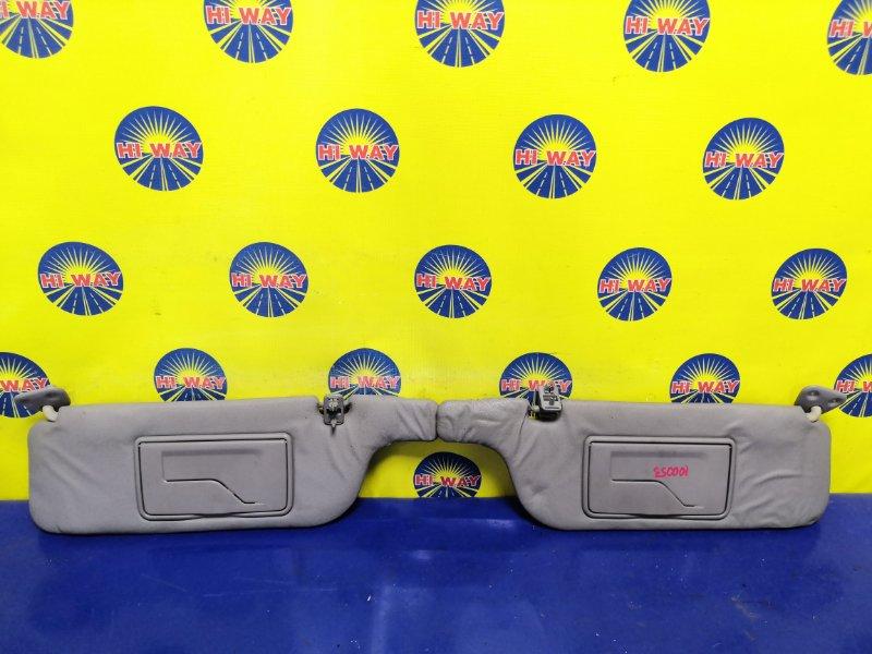 Козырек солнцезащитный Toyota Raum EXZ10 5E-FE 1998