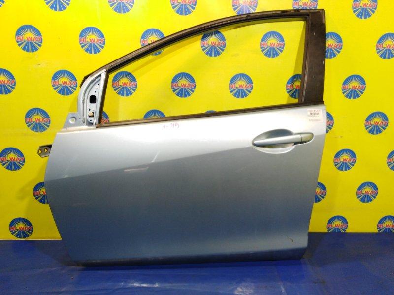 Дверь боковая Mazda Demio DE3FS ZJ-VEM 2007 передняя левая