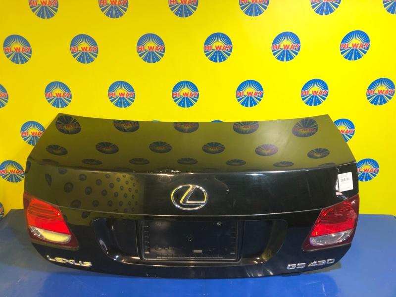 Крышка багажника Lexus Gs300 GRS190 2005