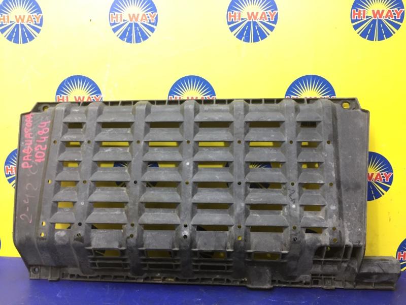 Защита радиатора Nissan Caravan CQGE25 KA24DE 2001 передняя нижняя