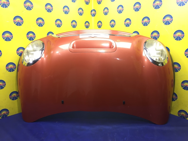 Капот Mini Cooper R50 2001