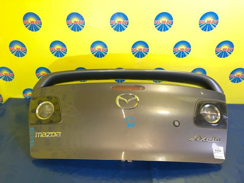 Крышка багажника Mazda Axela BK3P 2003 задняя