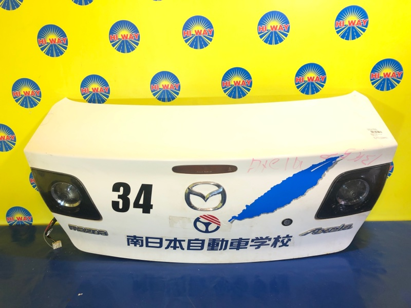 Крышка багажника Mazda Axela BKEP 2003