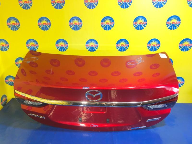 Крышка багажника Mazda Atenza GJ2FP 2015 задняя