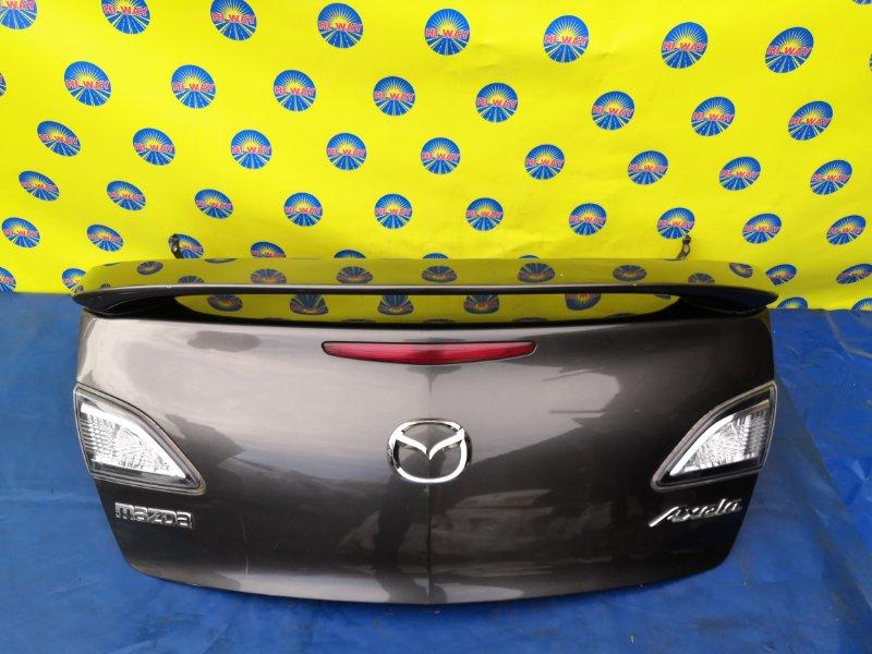 Крышка багажника Mazda Axela BL3FW 06.2009 задняя