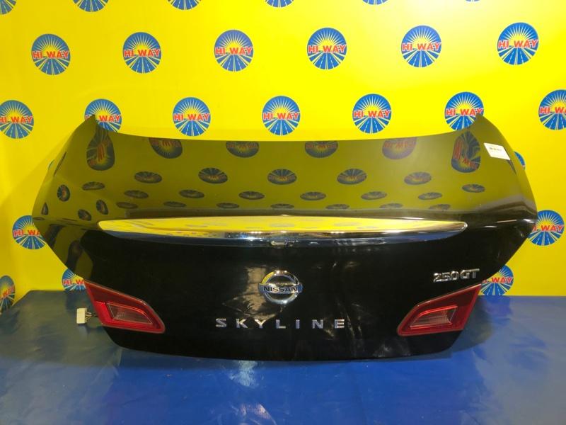 Крышка багажника Nissan Skyline V36 11.2006 задняя