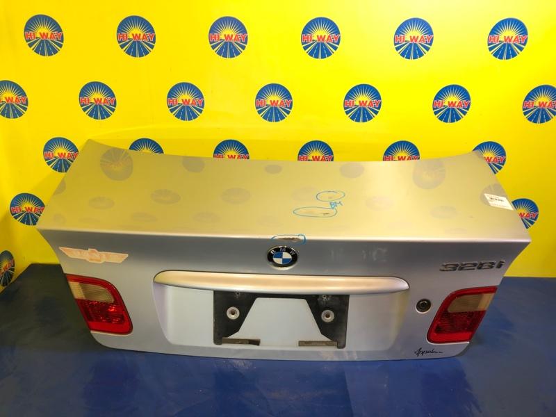 Крышка багажника Bmw 325I E46 N42B20A 1997