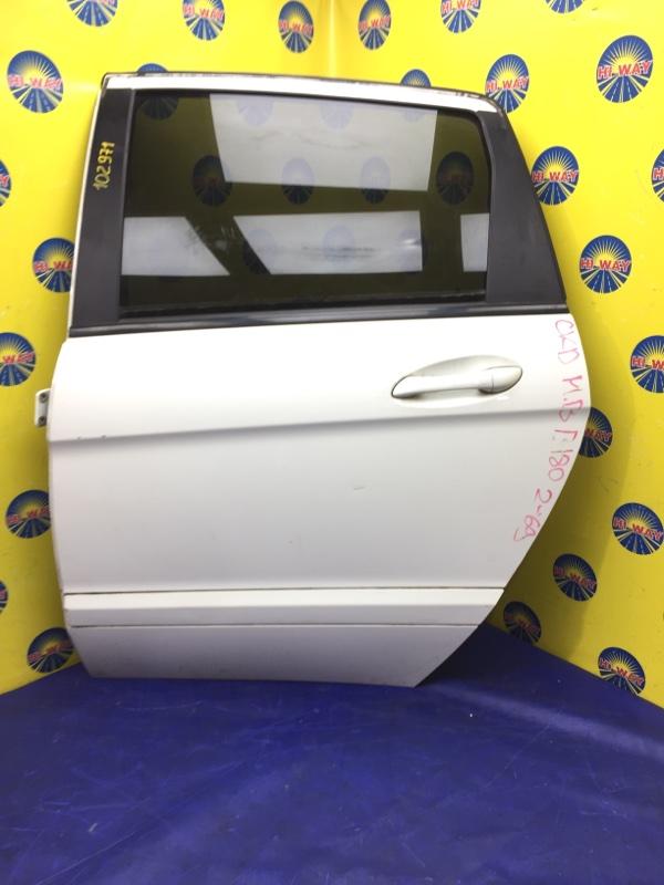 Дверь боковая Mercedes-Benz B180 T245 266.940 2005 задняя левая