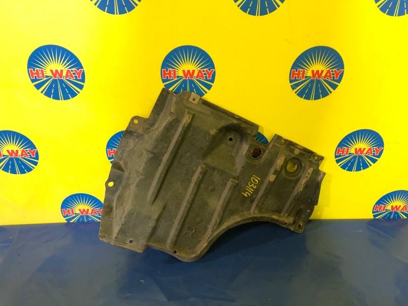 Защита двс Nissan Serena PC24 SR20DE 1999 правая