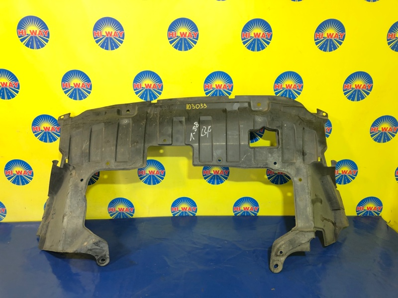 Защита двс Honda Fit GD3 L15A 2005 передняя