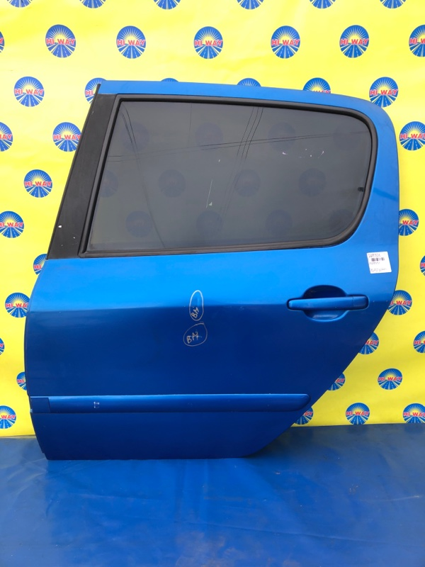 Дверь боковая Peugeot 307 3A/C RFJ 2002 задняя левая