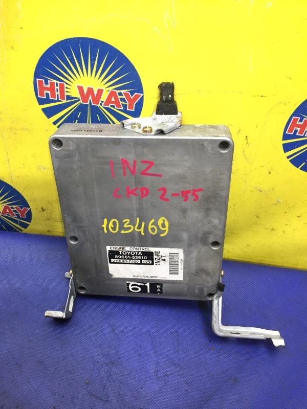 Блок управления двс,компьютер Toyota Platz NCP12 1NZ-FE 1999