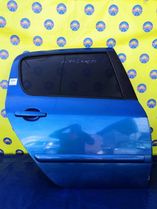 Дверь боковая Peugeot 307 3A/C RFJ 2002 задняя правая