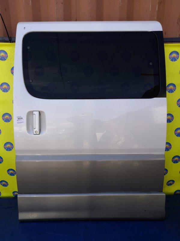 Дверь боковая Toyota Hiace Regius KCH46 1997 задняя левая