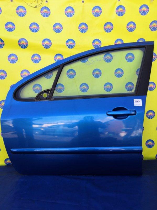 Дверь боковая Peugeot 307 3A/C RFJ 2002 передняя левая